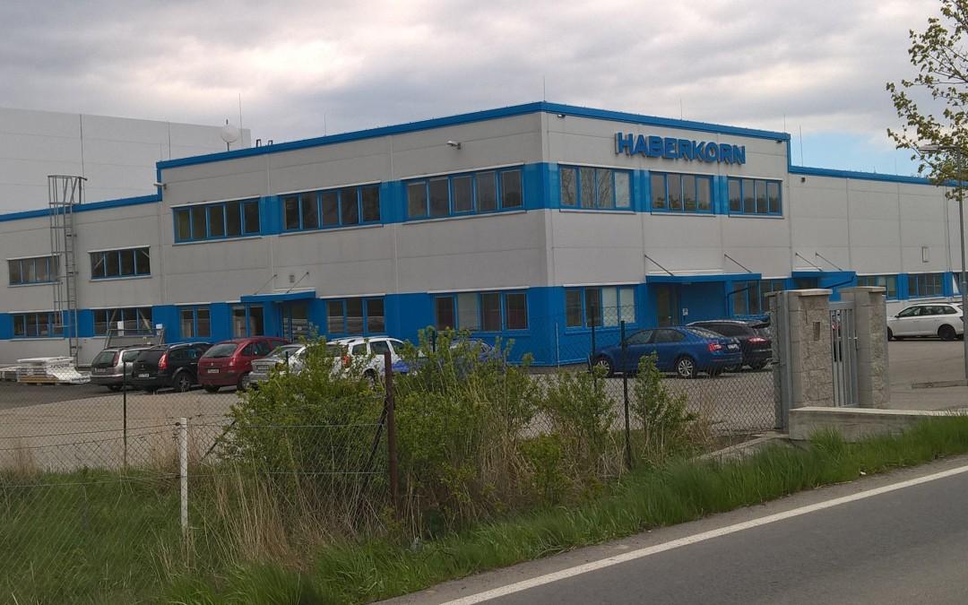 Přístavba haly Haberkorn opět se systémem Quickstream
