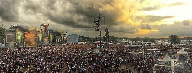 heavy metalový festival