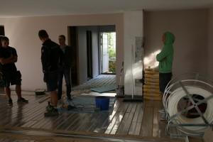 Instalace podlahového topení
