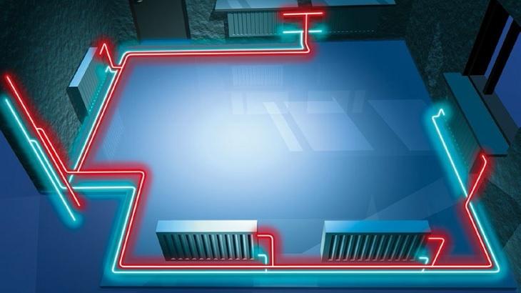 Podlahové, anebo ústřední topení? Obojí s chytrými materiály.