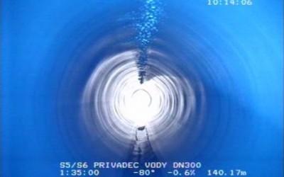 Inkrustace potrubí z polyetylenu nehrozí