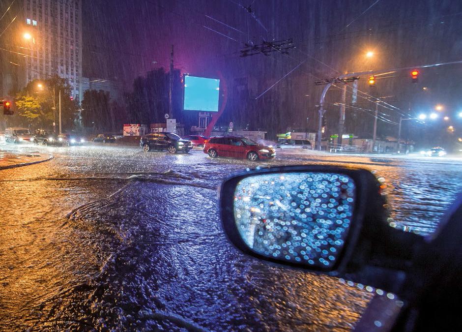 Jak chránit města před přívalovými vodami