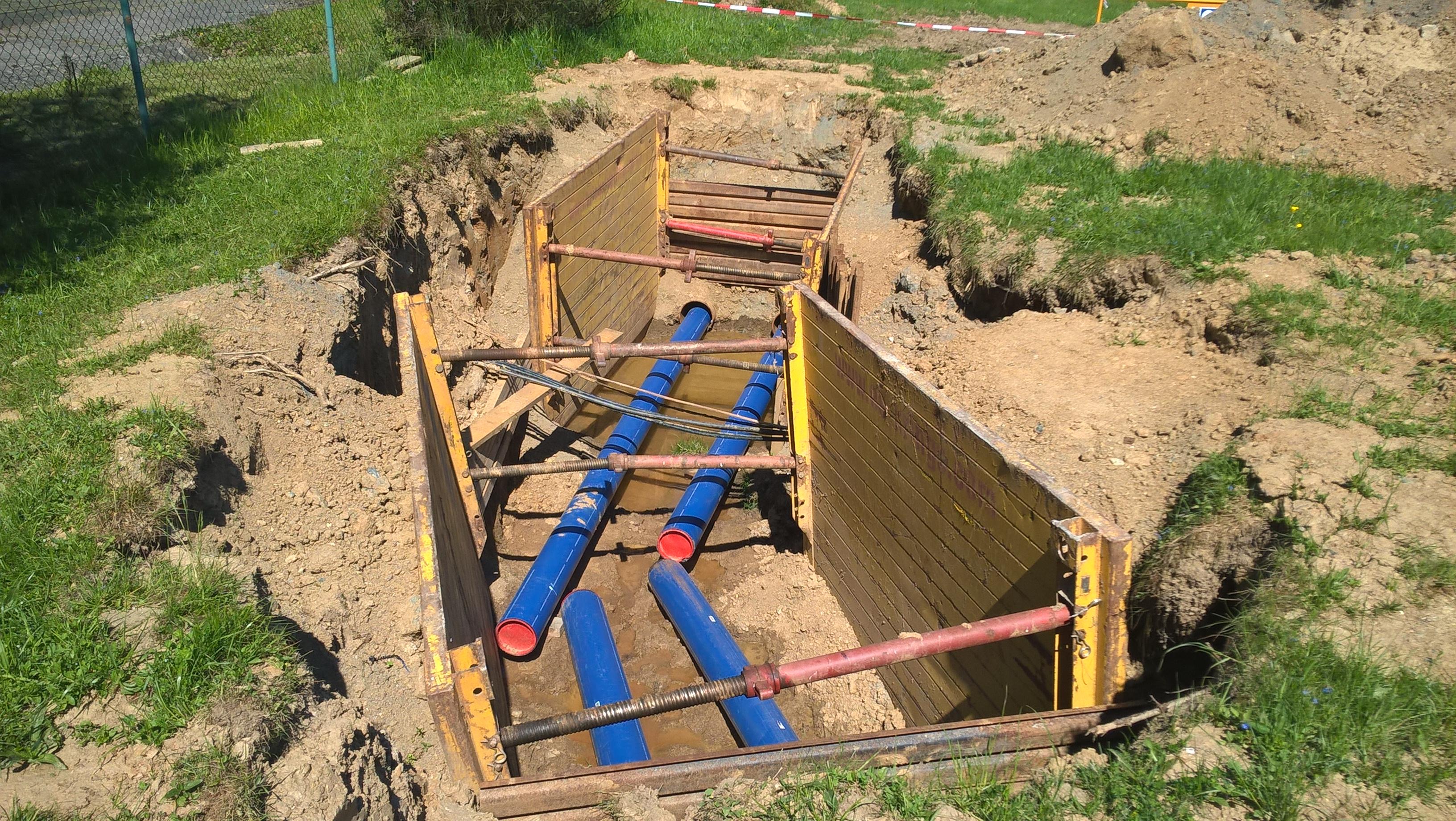 SafeTech - úptava vody Želivka