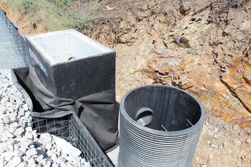 Šachty Tegra modernizují D1. Lze je využít i v místech s minimem prostoru.