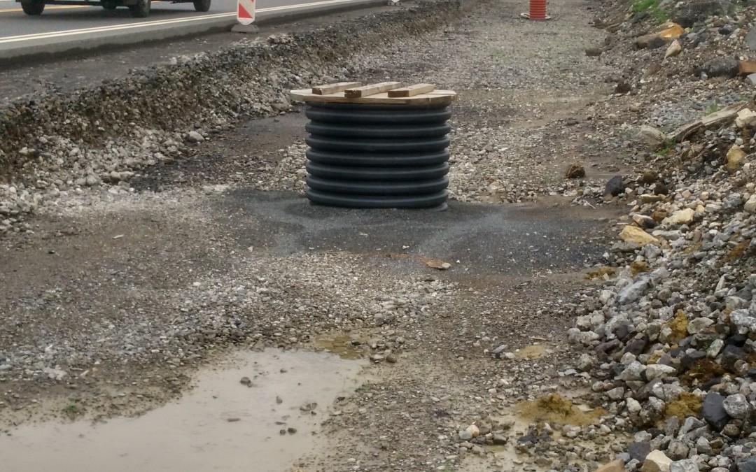 Kanalizační šachty Wavin Tegra modernizují dálnici D48